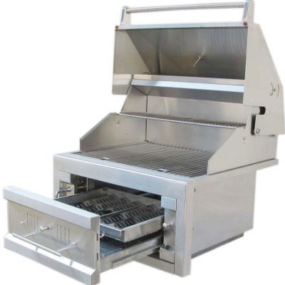 38 DUAL ZONE CHARCOAL GRILL 28