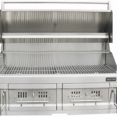 39 DUAL ZONE CHARCOAL GRILL 4