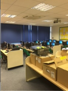 Willesborough school computer suite 2